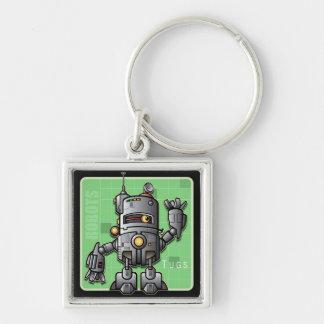 Robot Tugs Keychain