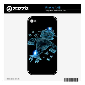 Robot two iPhone 4S decals