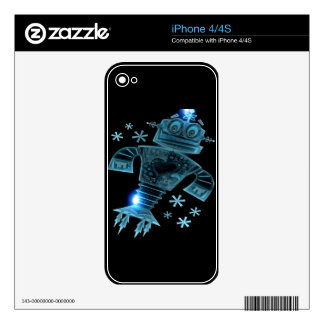 Robot two iPhone 4S skin