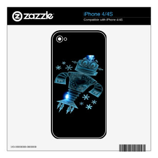 Robot two skins for iPhone 4S