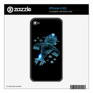 Robot two skins for the iPhone 4