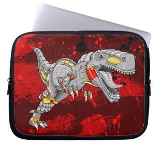 Robot Tyrannosaurus Dinosaur  Electronics Sleeve Laptop Sleeves