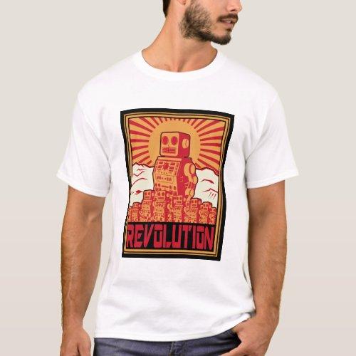 Robot Uprising T_Shirt