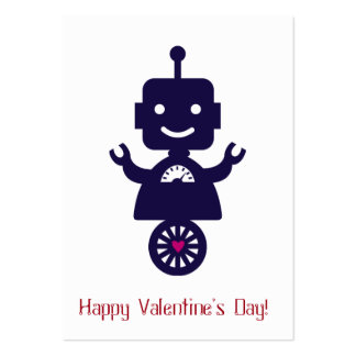 Robot Valentine - Scooter Large Business Card