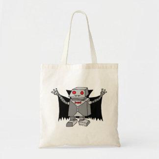 Robot Vampire Tote Bag