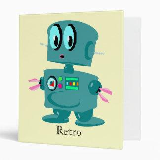 """Robot verde retro clásico carpeta 1"""""""