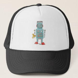 robot vintage toys trucker hat
