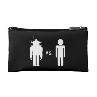 Robot vs. Human Makeup Bags