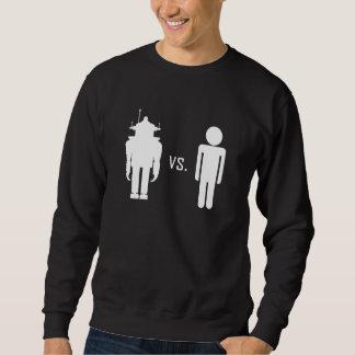 Robot vs. Human Sweatshirt