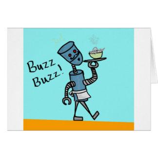 Robot Waiter Card