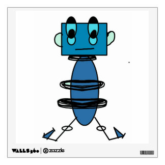 Robot Wall Decal
