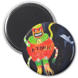 Robot Wars 2 Inch Round Magnet