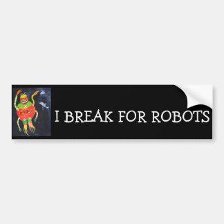 Robot Wars Bumper Sticker