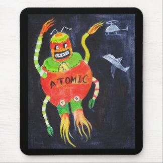 Robot Wars Mouse Pad