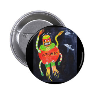 Robot Wars Pinback Button