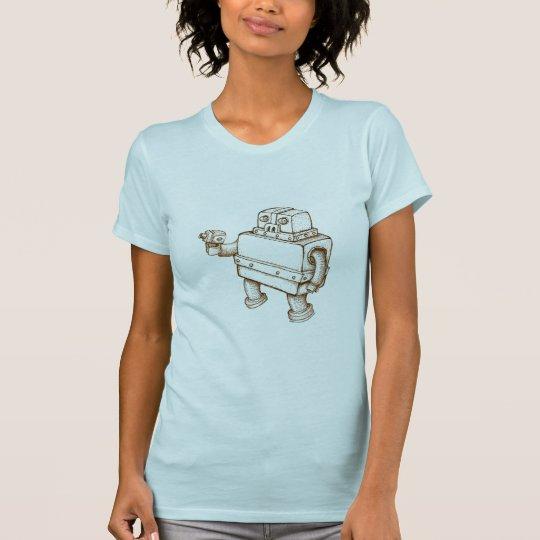 Robot with a Ray Gun T-Shirt