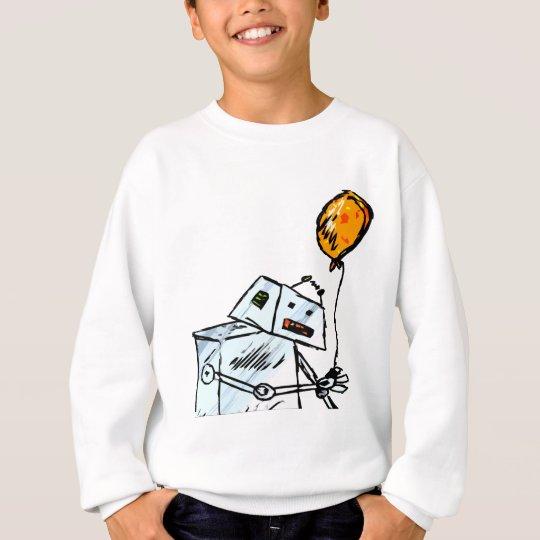 robot with Balloon 1 Sweatshirt