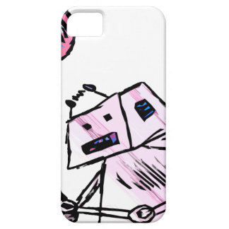 Robot with Balloon 2 iPhone SE/5/5s Case
