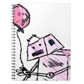 Robot with Balloon 2 Notebook