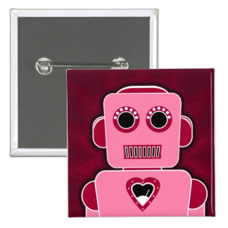 Robot with heart button