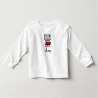 Robot with Heart Toddler T-shirt