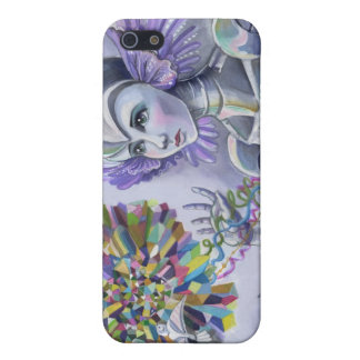Robot Woman with a Starlike Love- Crystal Heart Case For iPhone 5