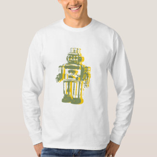 robot_yellow, robot_green T-Shirt