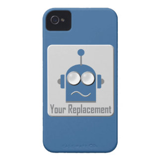 Robot : Your Replacement Case-Mate iPhone 4 Case