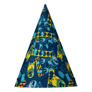 Robot zone party hat