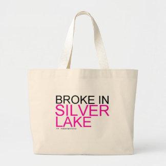 "ROBOTANISTS ""Broke in Silver Lake"" Shopping Bag"