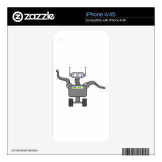 Roboter robot decal for the iPhone 4