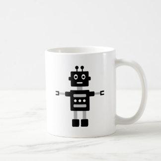 RobotFutuP12 Classic White Coffee Mug