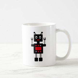 RobotFutuP15 Classic White Coffee Mug
