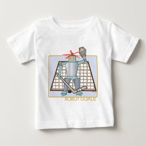 robotgoalie baby T-Shirt