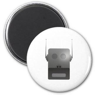 Robothund robodog imán redondo 5 cm