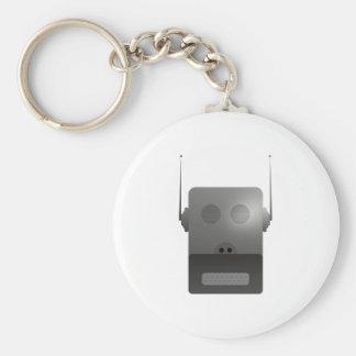 Robothund robodog llavero redondo tipo pin