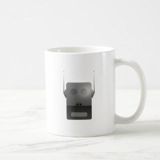Robothund robodog taza básica blanca