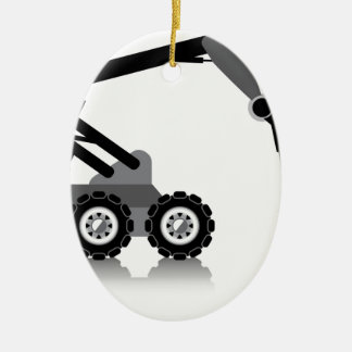 Robotic Arm Ceramic Ornament