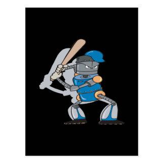 Robotic Batter Postcard
