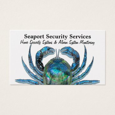 """Professional Business Robotic Crab on Gold Professional  3.5"""" x 2.0"""" Business Card"""