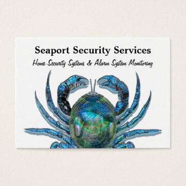 """Professional Business Robotic Crab Professional  3.5"""" x 2.5"""" Business Card"""