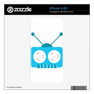 Robotic iPhone 4S Skins