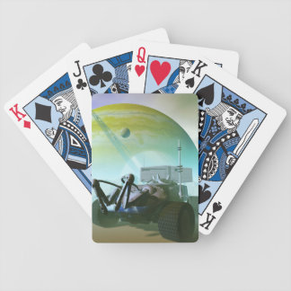 Robotic Landrover Bicycle Playing Cards