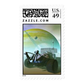 Robotic Landrover Postage