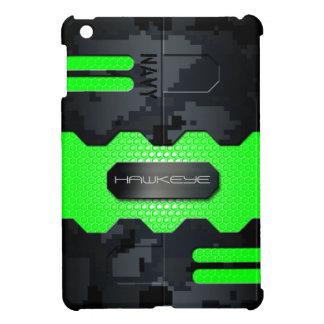 Robotic Navy Digital Camouflage Case iPad Mini Case