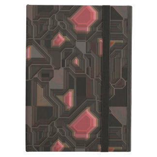 Robotic Pink Cyborg Panel Cover For iPad Air