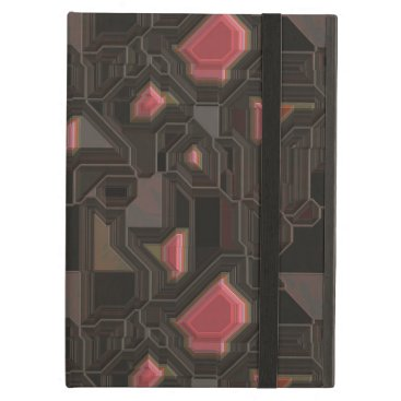 think_out_loud Robotic Pink Cyborg Panel Cover For iPad Air