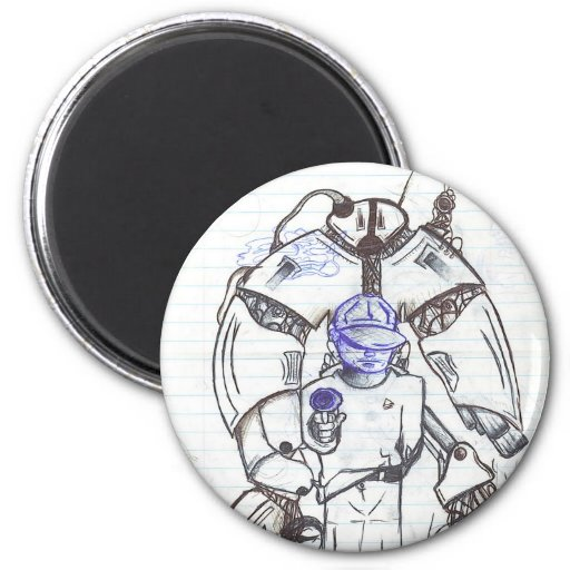 Robotic Protection 2 Inch Round Magnet