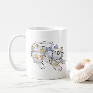 Robotic Toy Kitten Mug