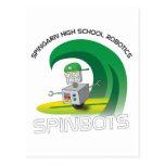 Robótica de la High School secundaria de Spingarn Postal